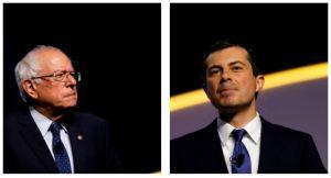 Presidential Candidates Bernie Sanders, Pete Buttigieg Back In LA –