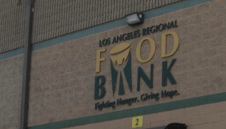 Los Angeles Food Bank Activity Increases 145 Percent
