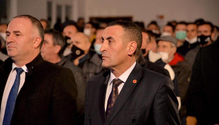 Brahimaj in Dushkajë, thanks the residents for the support