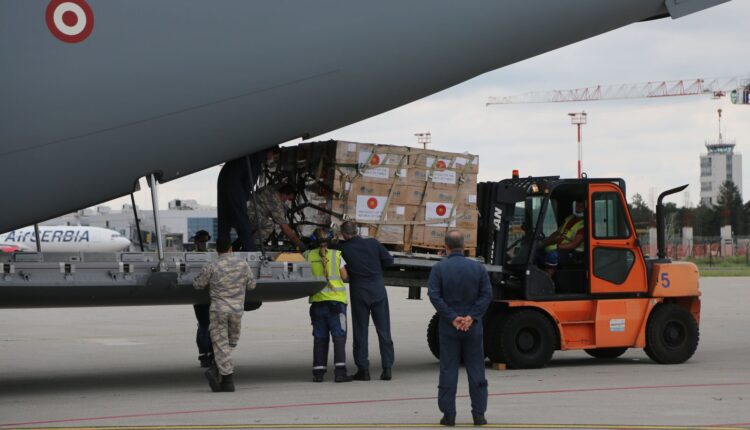 Turkey delivers 2nd batch of medical aid to Serbia