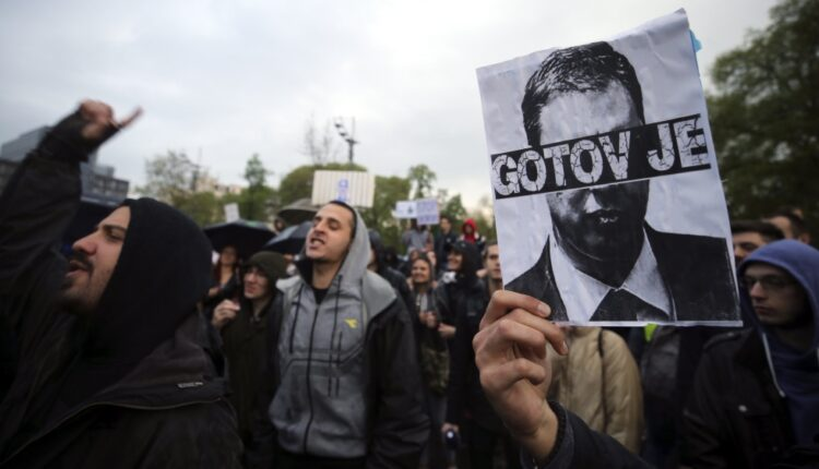 Protests against Vucic's election win for third day | Serbia
