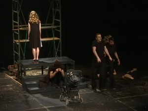 A new generation of actors started with Brecht's play