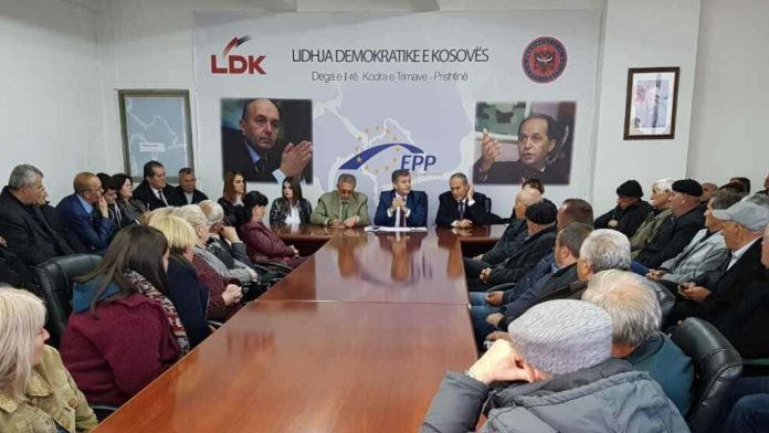 The first branch of LDK demands the resignation of Ismet