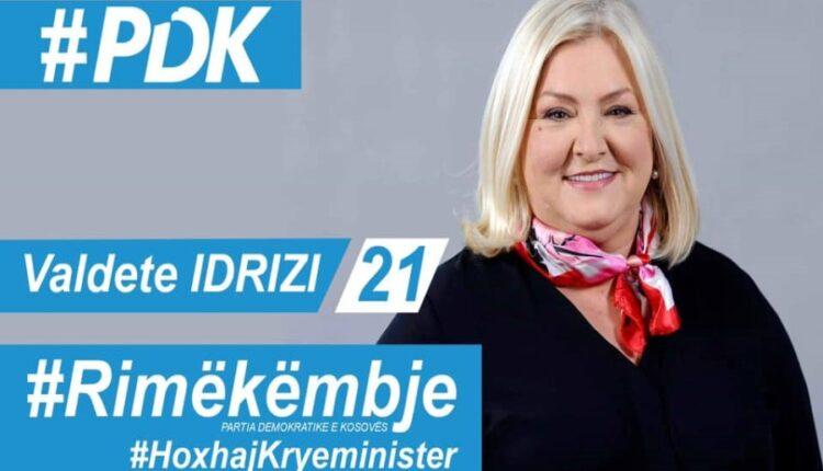 Idrizi in Zhabar, Mitrovica, unveils PDK recovery program