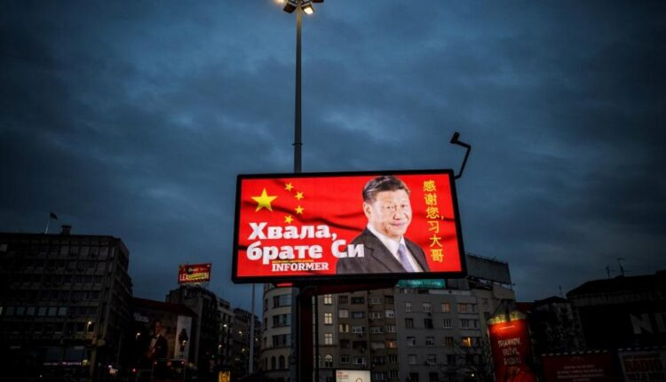 Serbia has rolled out the red carpet to China –