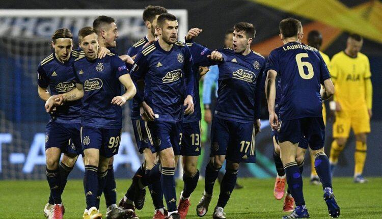 Dinamo Zagreb eliminates Tottenham and Jose Mourinho
