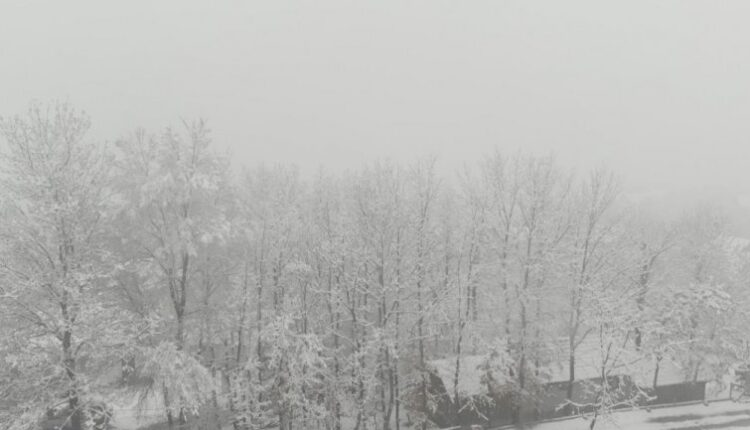 Winter has returned to Serbia, in some parts MORE THAN