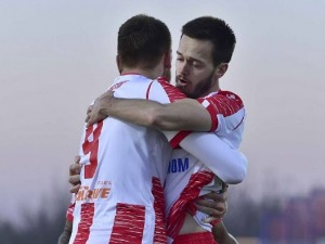 Fierce pace, two red cards and the victory of Zvezda