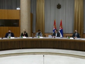 The session of the National Security Council has started