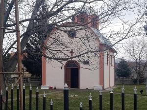The church in Gornja Gušterica was broken into in Kosovo