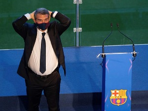 RTS :: Laporta took office in Barcelona: Leo, you have