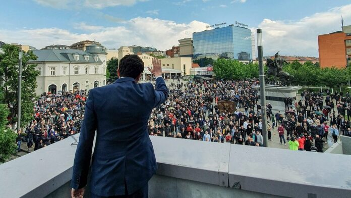 Even before he became prime minister, Albanians abroad express their