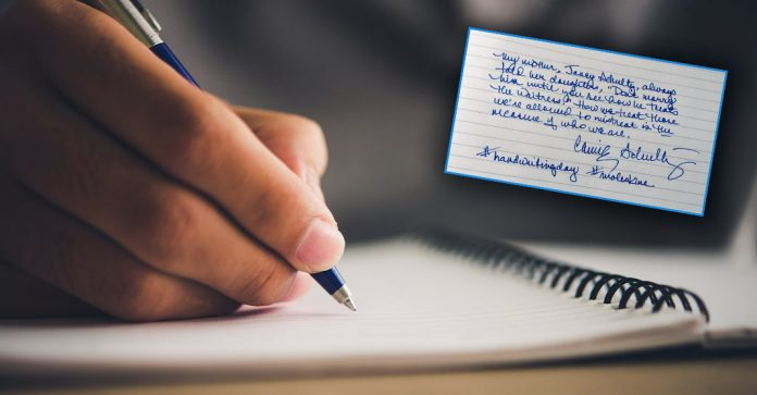 If you have bad writing, then you are a good