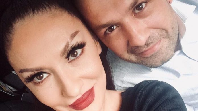 The husband bought a super luxury car for Adelina Ismaili