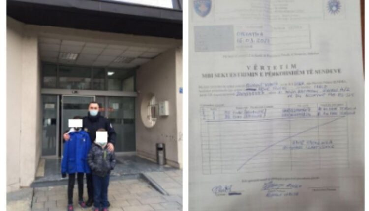 Pristina: Two children find 100 euros, hand them over to
