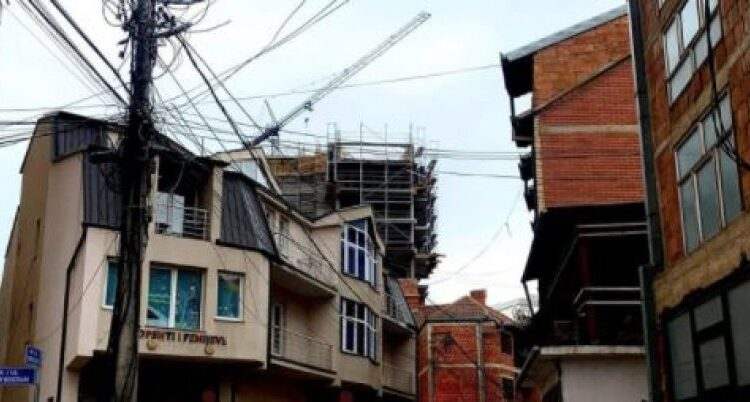 Damage to Tophane, power lines and poor construction ugly this
