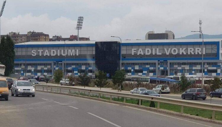 "Roads around the stadium ""Fadil Vokrri"" are blocked for traffic"