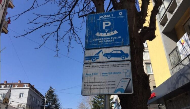 New price list for parking in the center of Prishtina