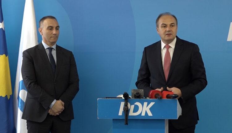 Hoxhaj meets Grubin, they invite the Albanian diaspora to register