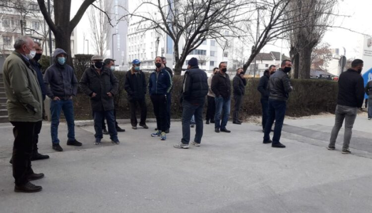 Residents of some villages in Prishtina are protesting, demanding public