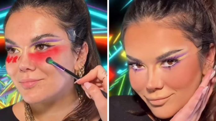 This makeup technique by Sellma went viral in the world